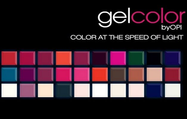 OPI Gel Colors