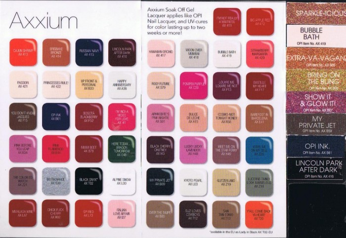 Over 50 Gel Colors Available!