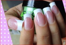 french-manicure-sns