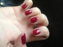 14 day no chip Shellac gel manicure